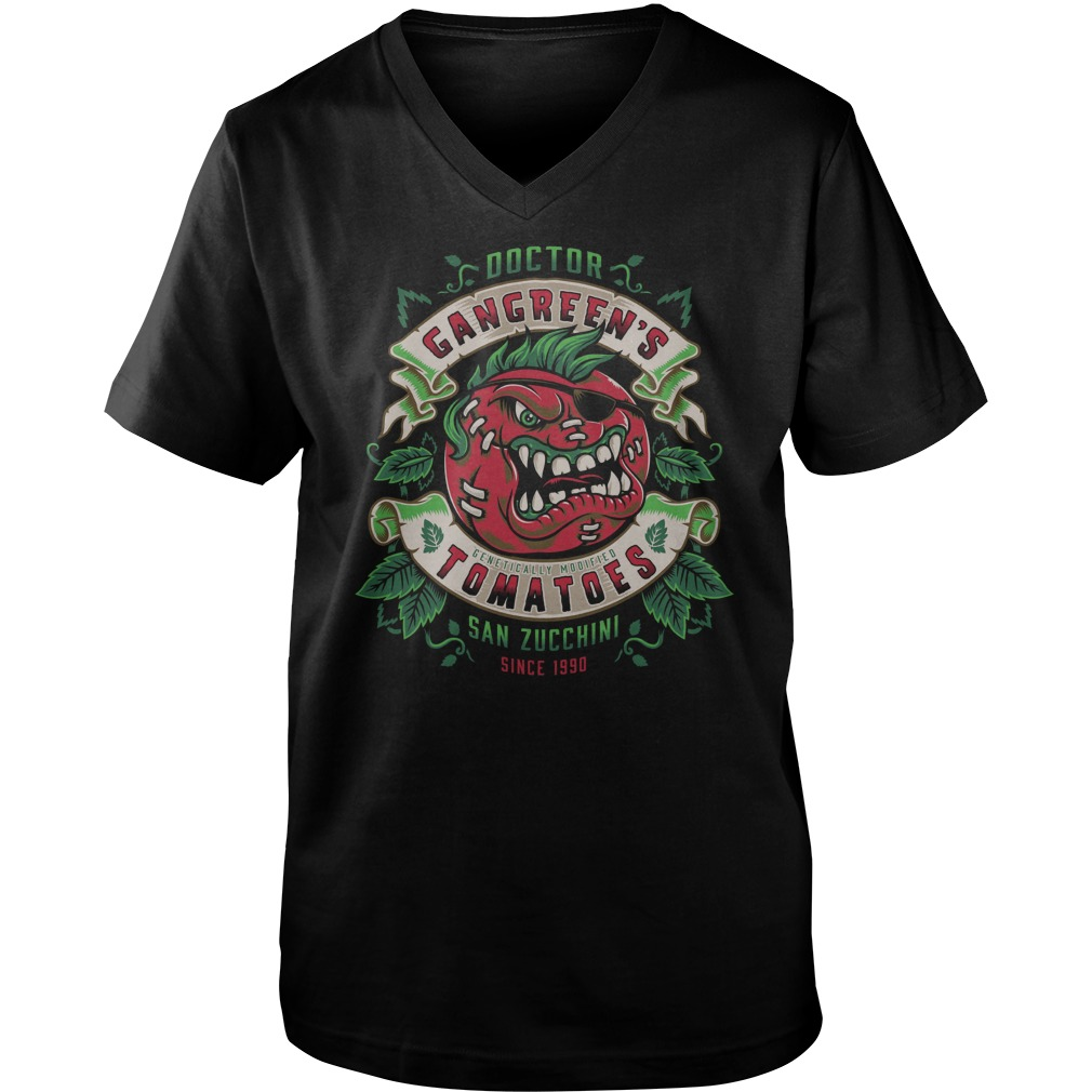 Attack Of The Killer Tomatoes Gangreens Tomatoes Guys V Neck