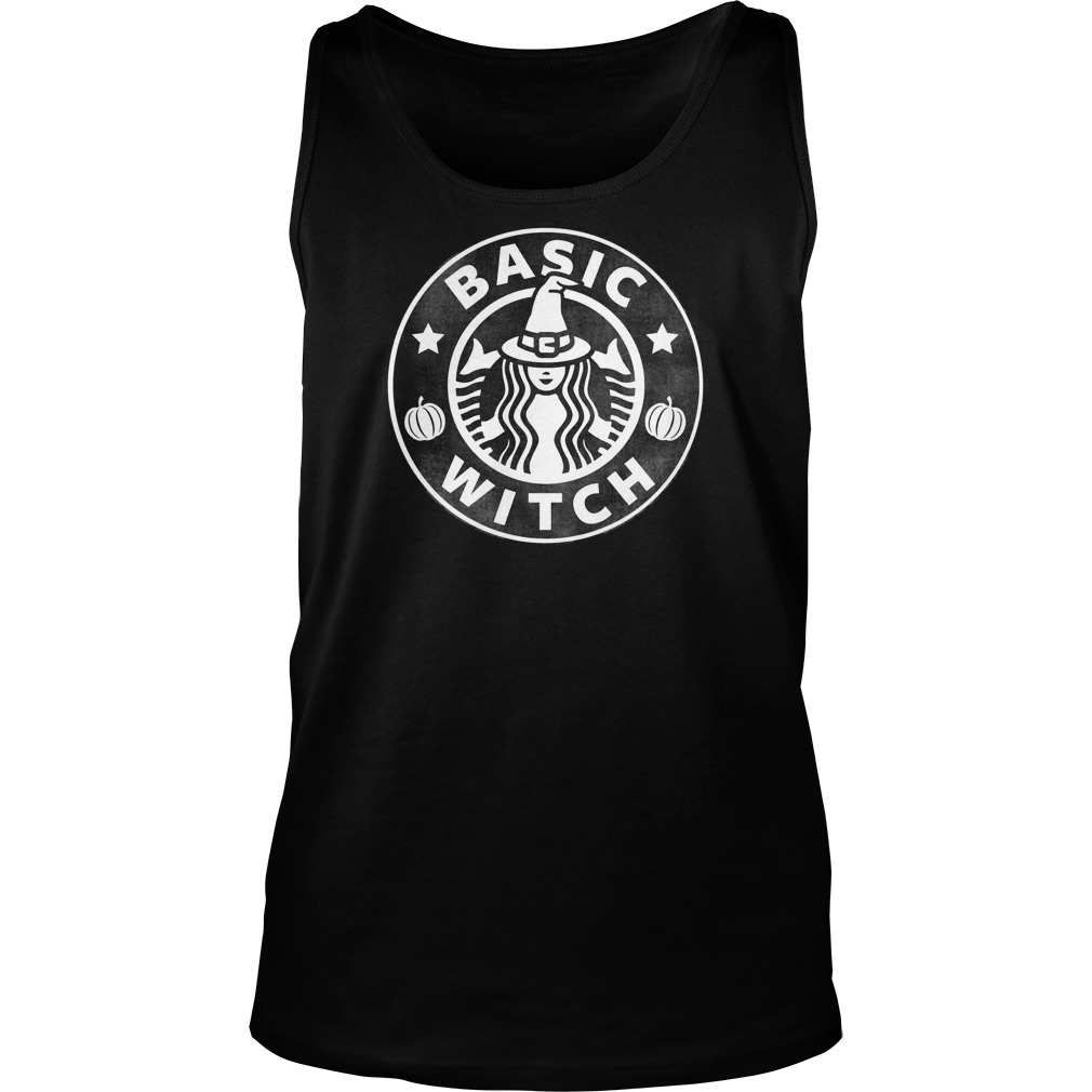 Basic Halloween Witch Tank Top
