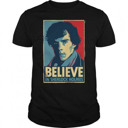 Believe Sherlock Homes Guys Tee