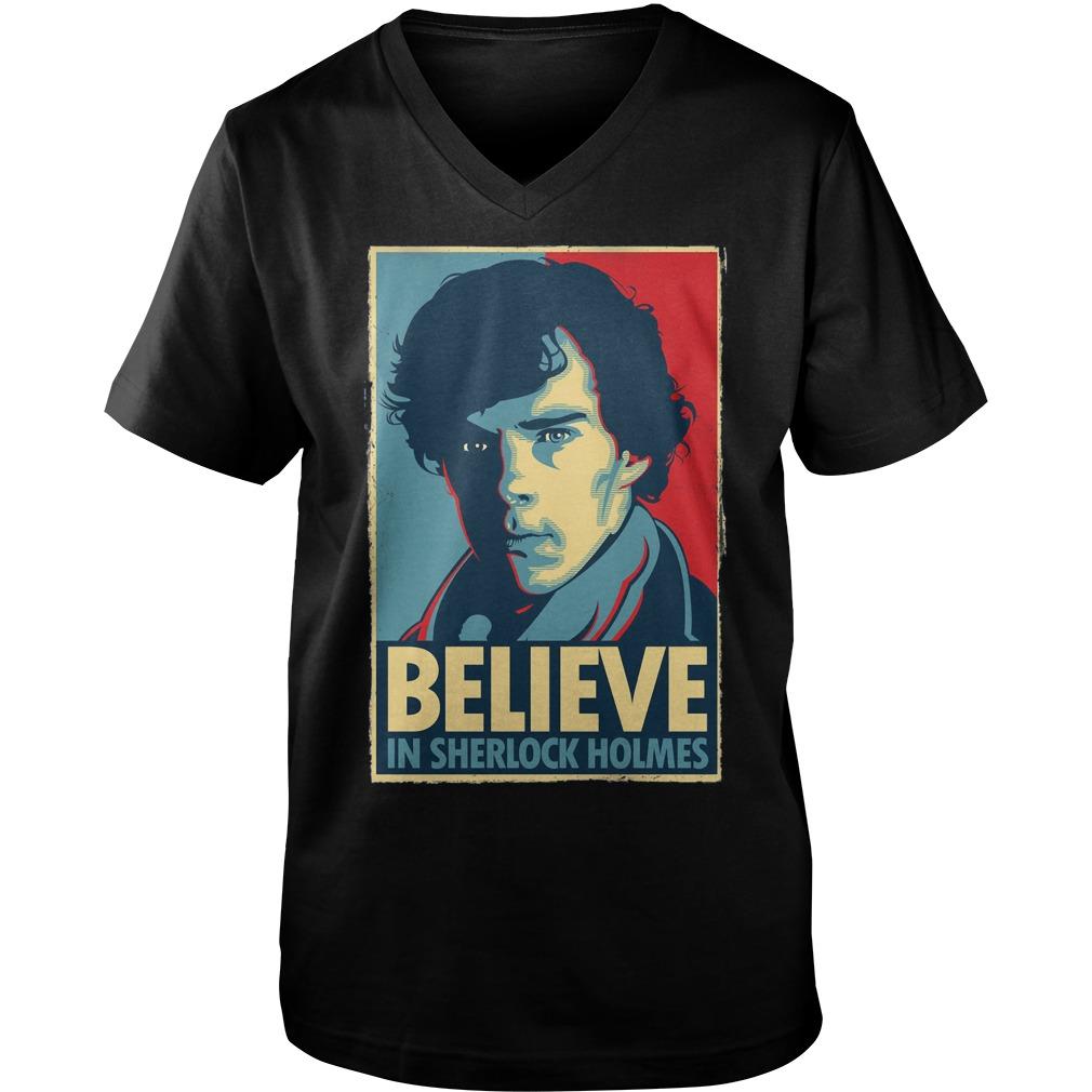 Believe Sherlock Homes Guys V Neck