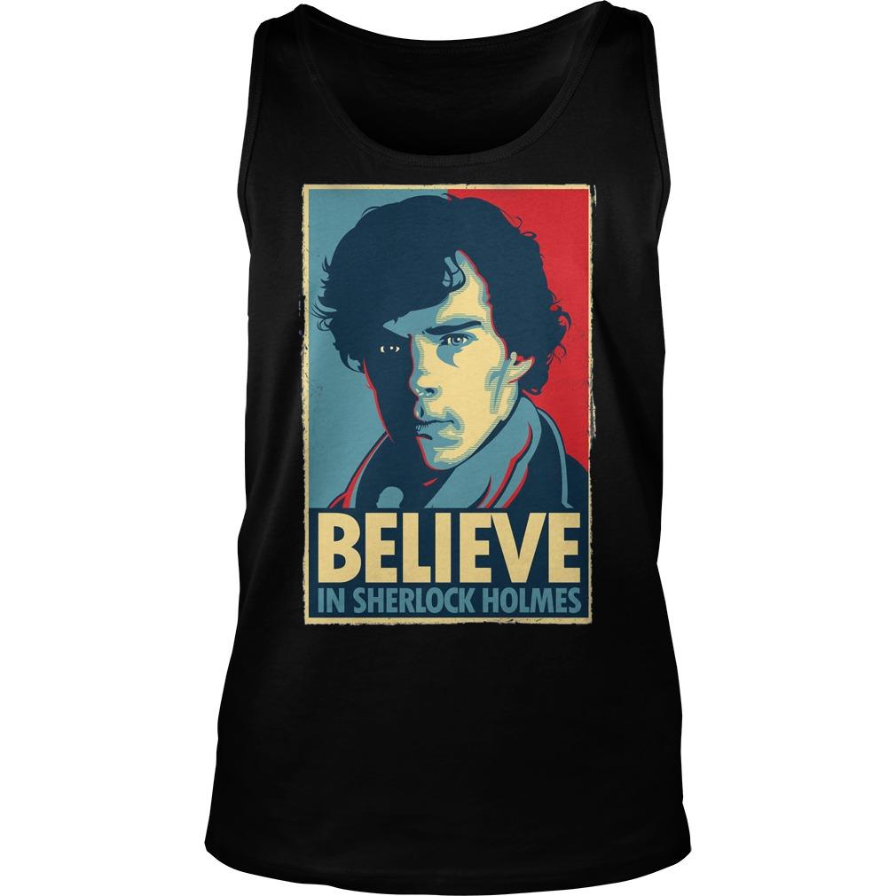 Believe Sherlock Homes Tank Top