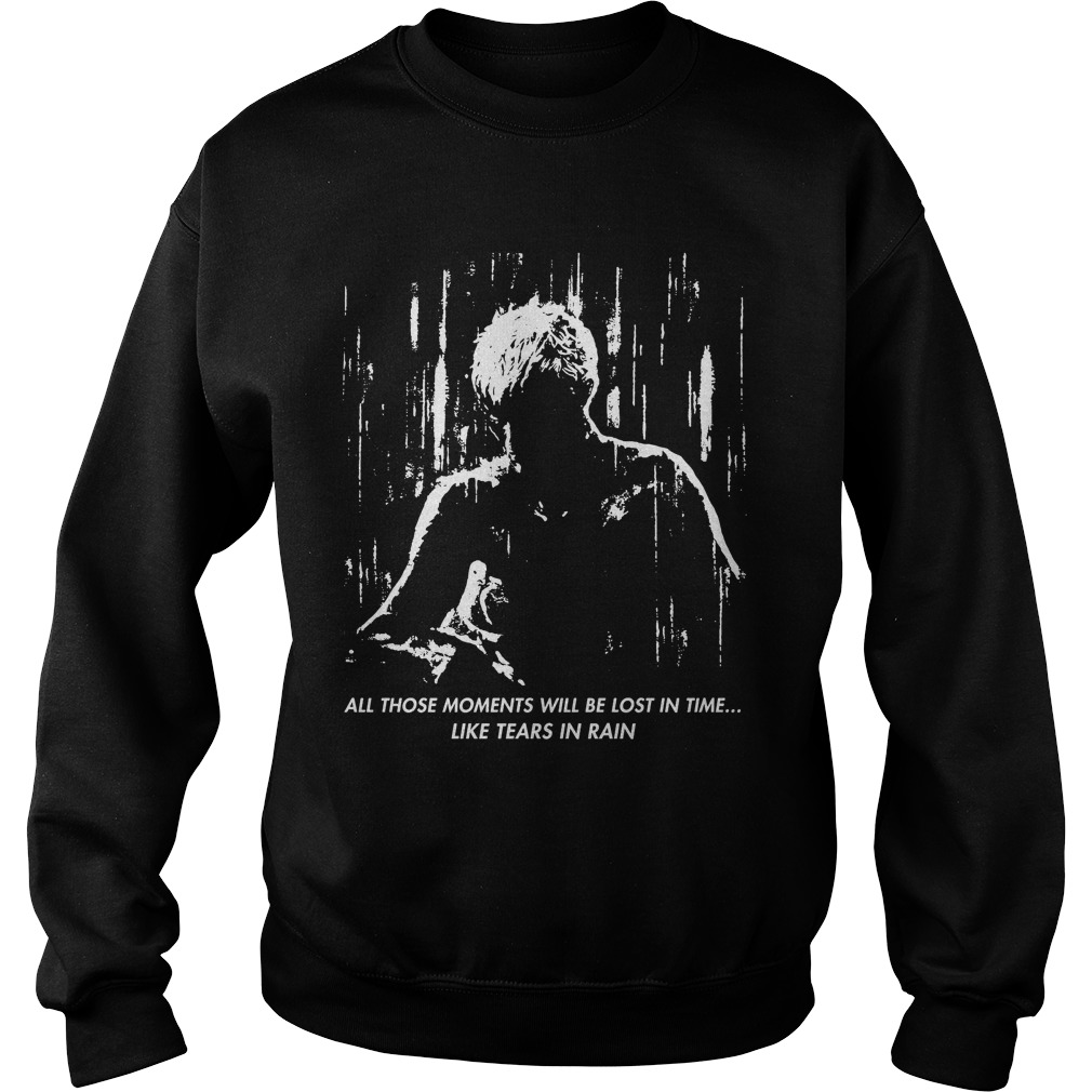 Blade Runner Like Tears Rain Sweat Shirt