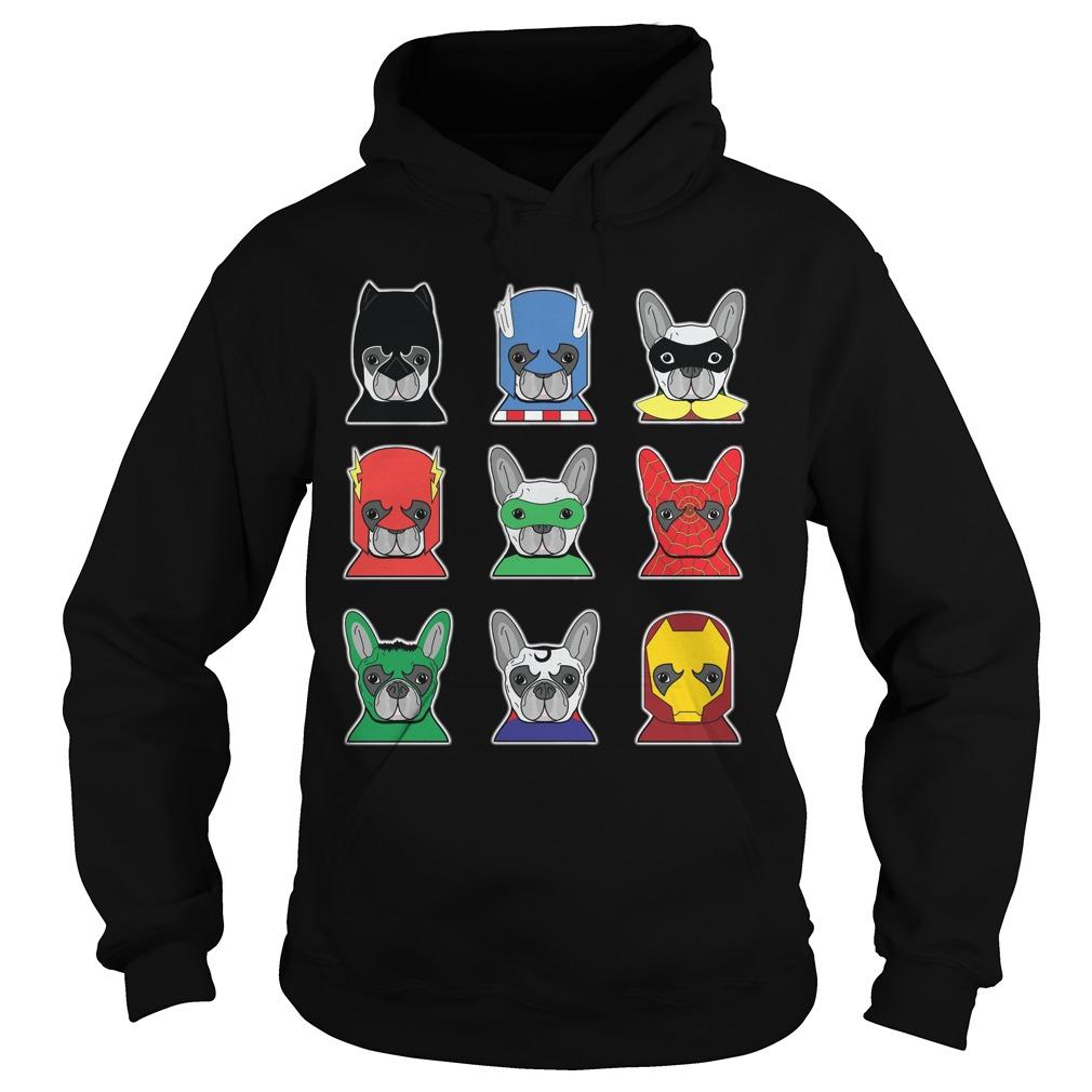 Bulldog Superheroes Hoodie
