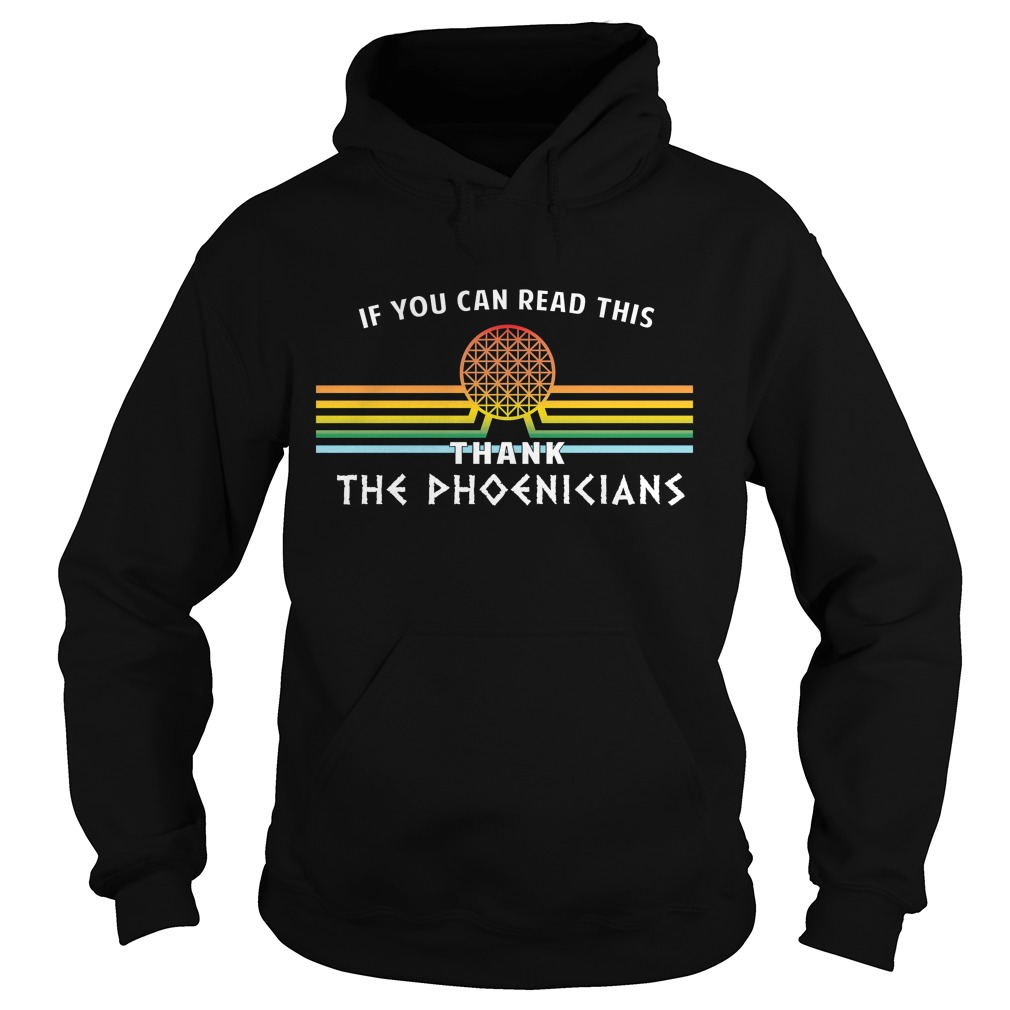 Can Red Thank Phoenicians Disneys Spaceship Earth Hoodie