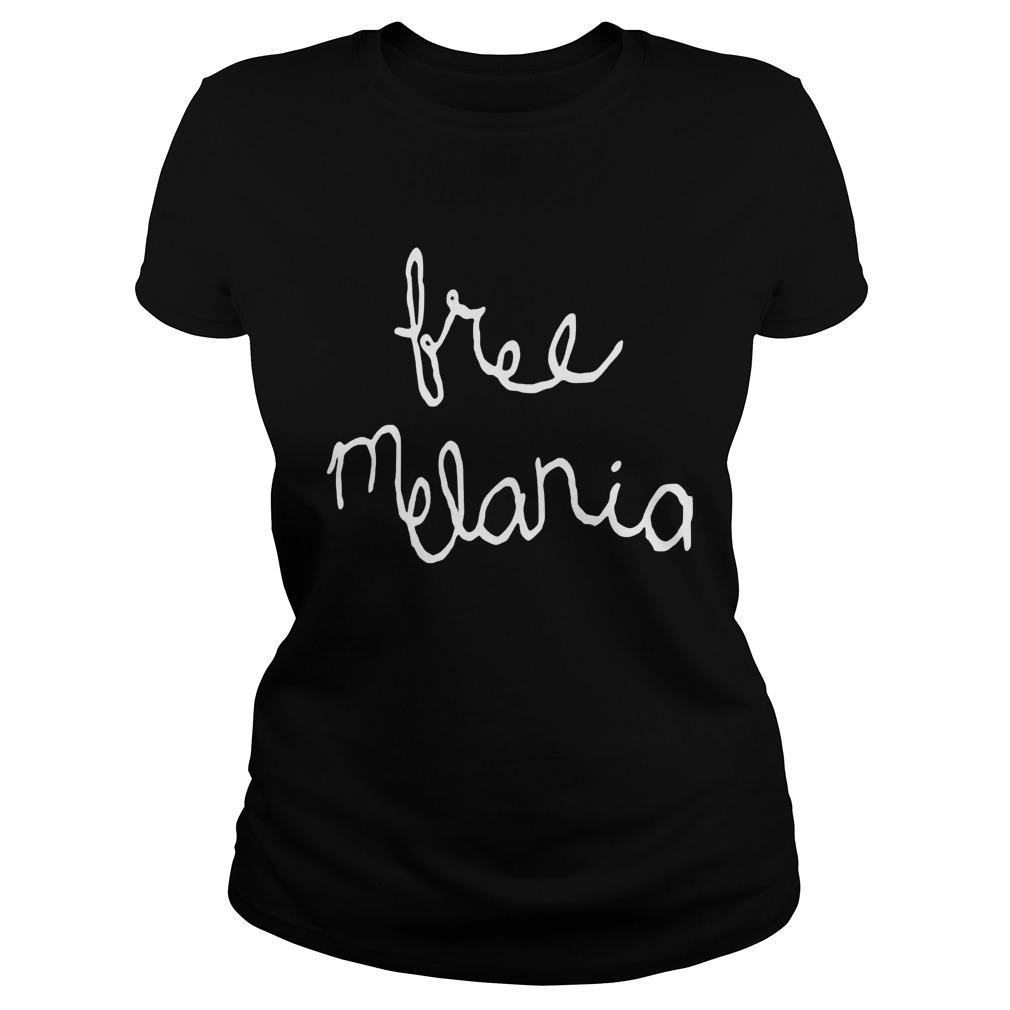 Candice Bergen Free Melania Ladies Tee