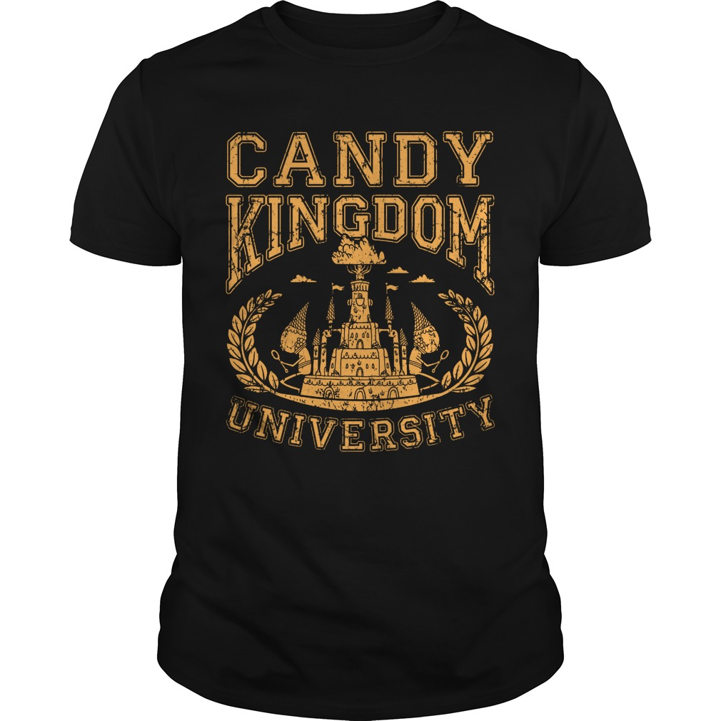 Candy Kingdom University Guys Tee