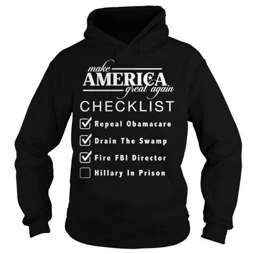 Checklist Make America Great Hoodie