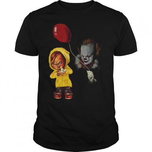 Chucky Pennywise Halloween Guys Tee
