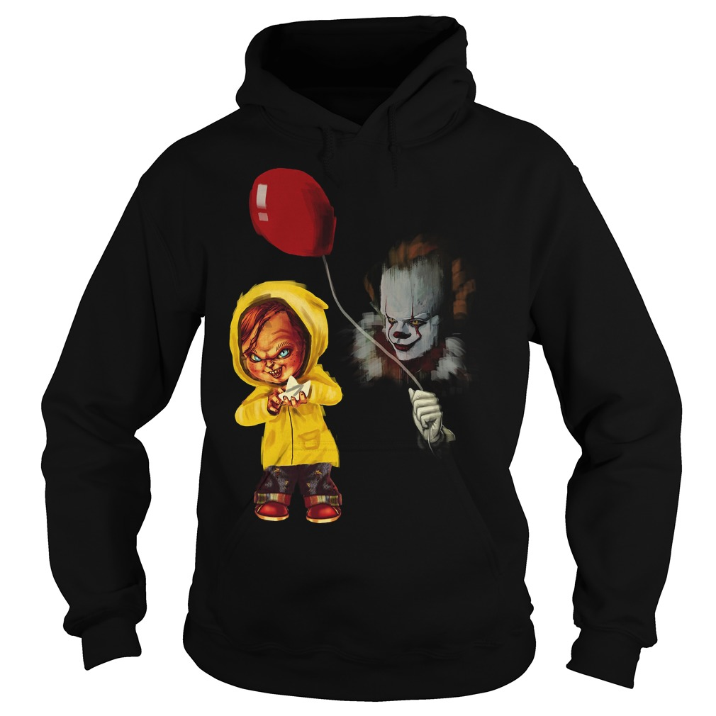 Chucky Pennywise Halloween Hoodie