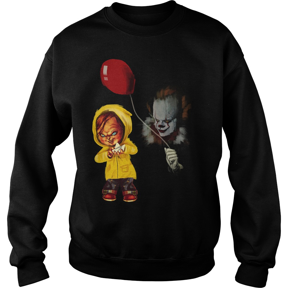 Chucky Pennywise Halloween Sweat Shirt