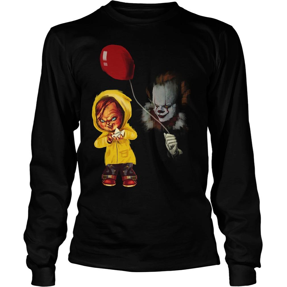 Chucky Pennywise Halloween Unisex Longsleeve Tee