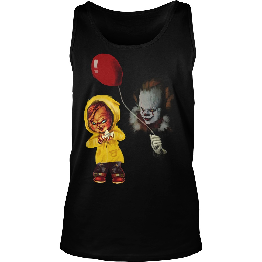 Chucky Pennywise Halloween Unisex Tank Top