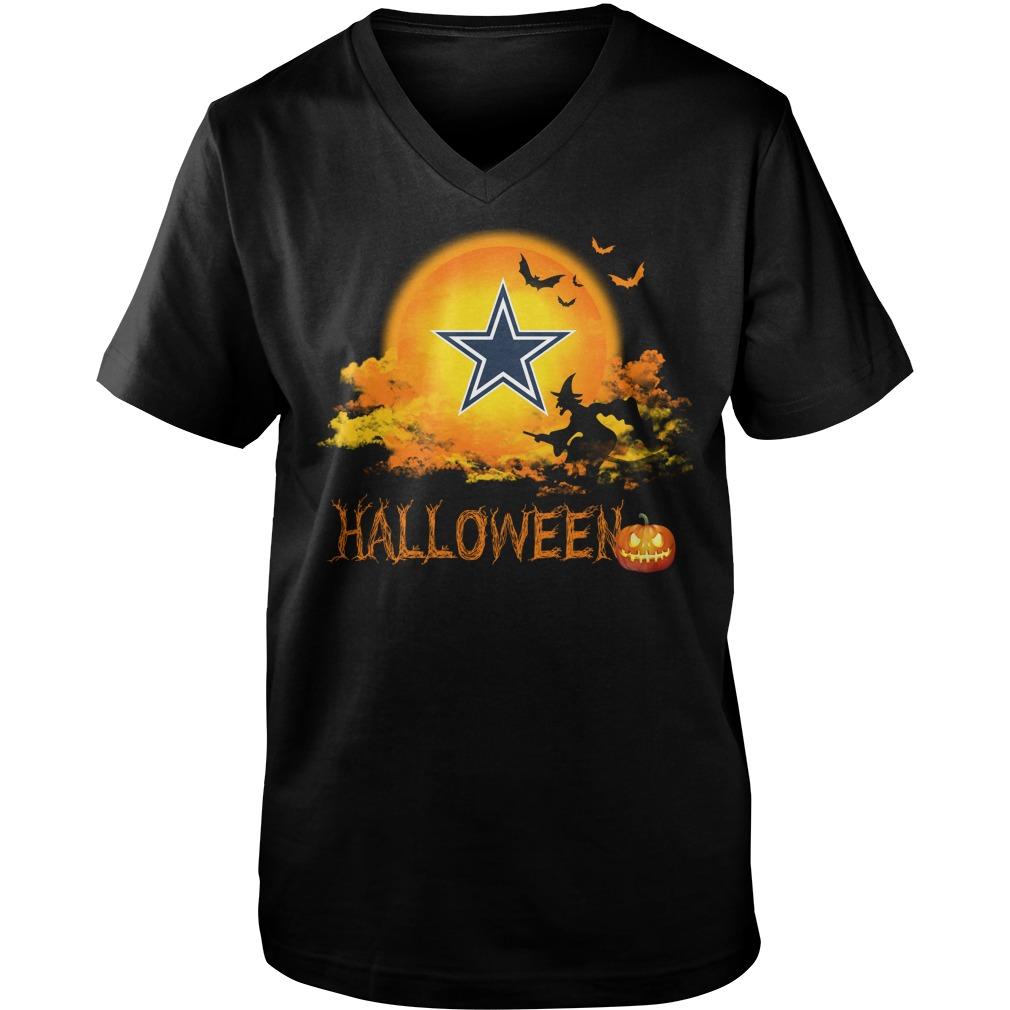 Cowboys Halloween Guys V Neck