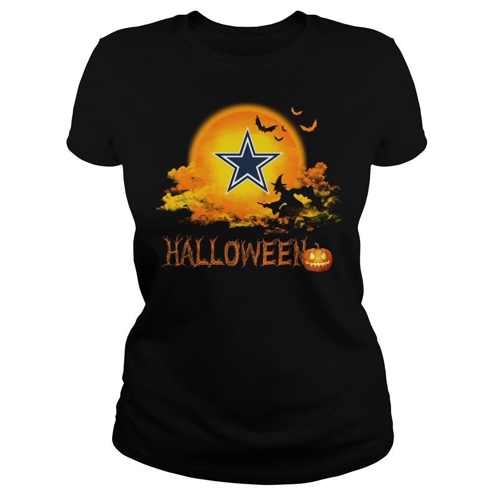 Cowboys Halloween Ladies Tee