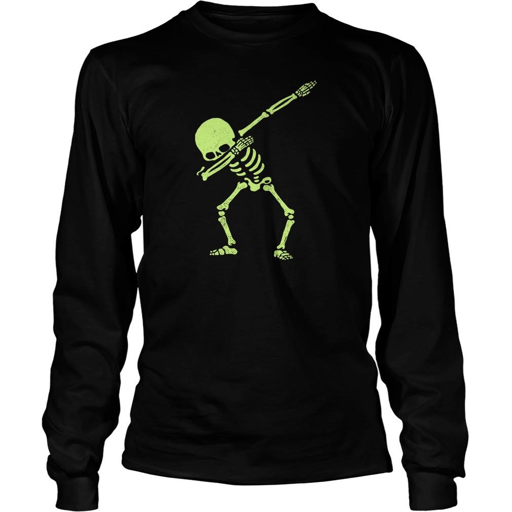 Dabbing Skeleton Longsleeve