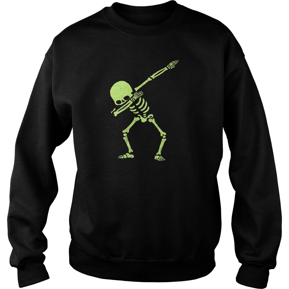 Dabbing Skeleton Sweat Shirt