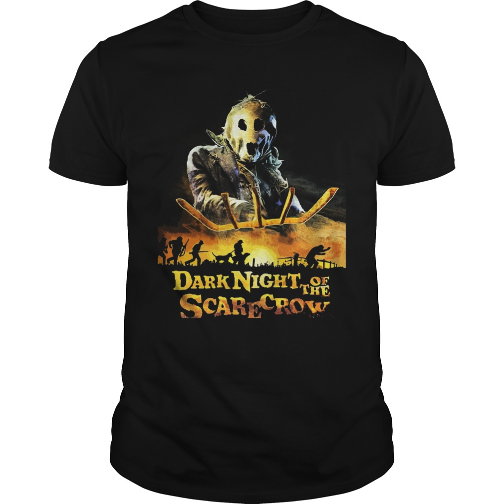 Dark Night Scarecrow Guys Tee