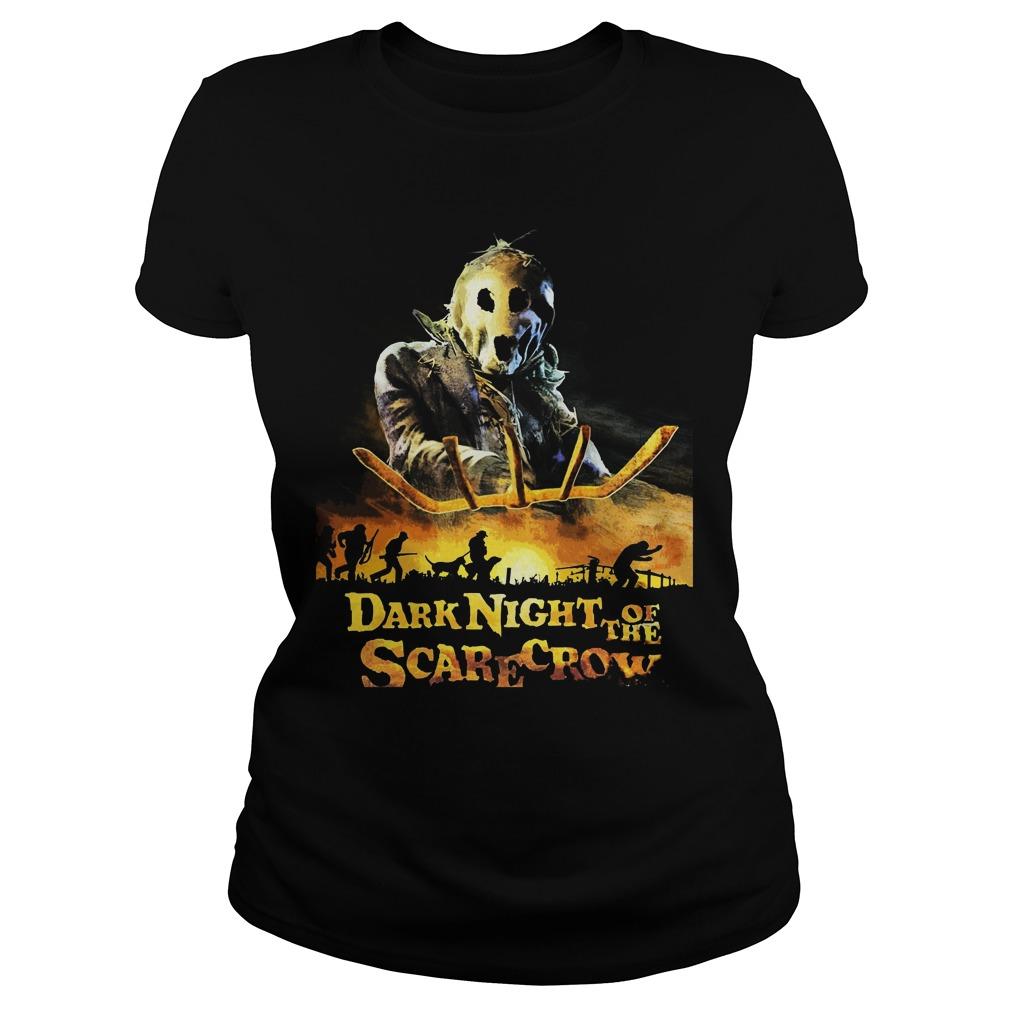 Dark Night Scarecrow Ladies Tee