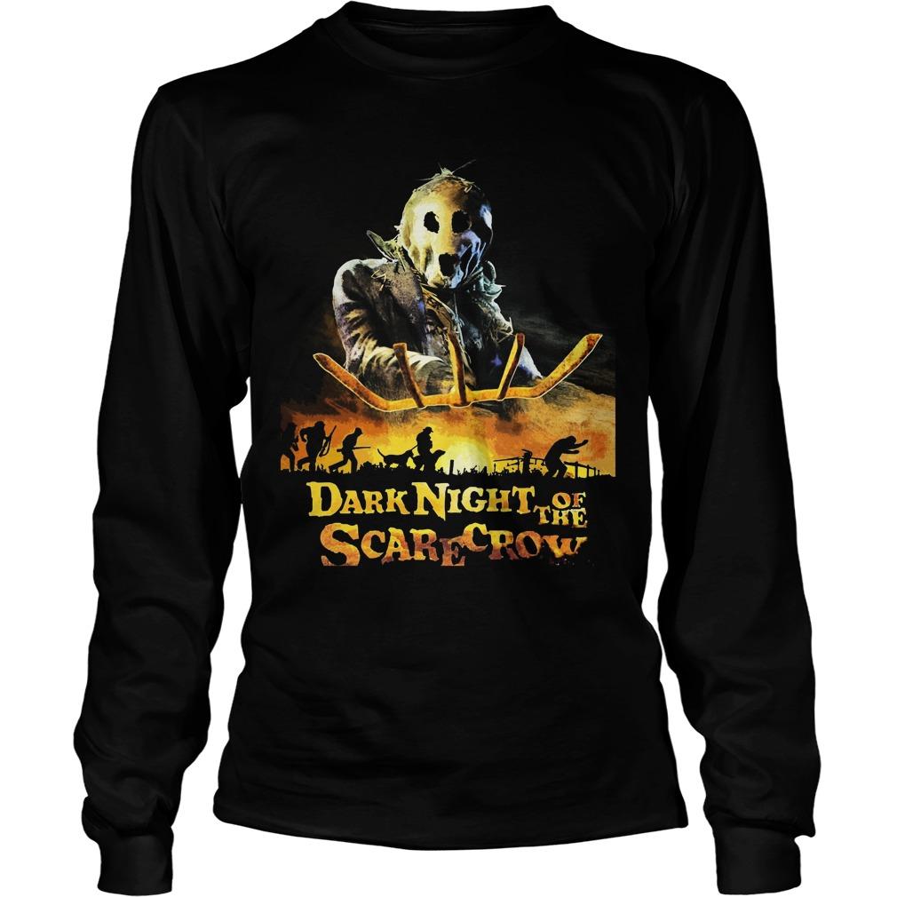 Dark Night Scarecrow Unisex Longsleeve Tee