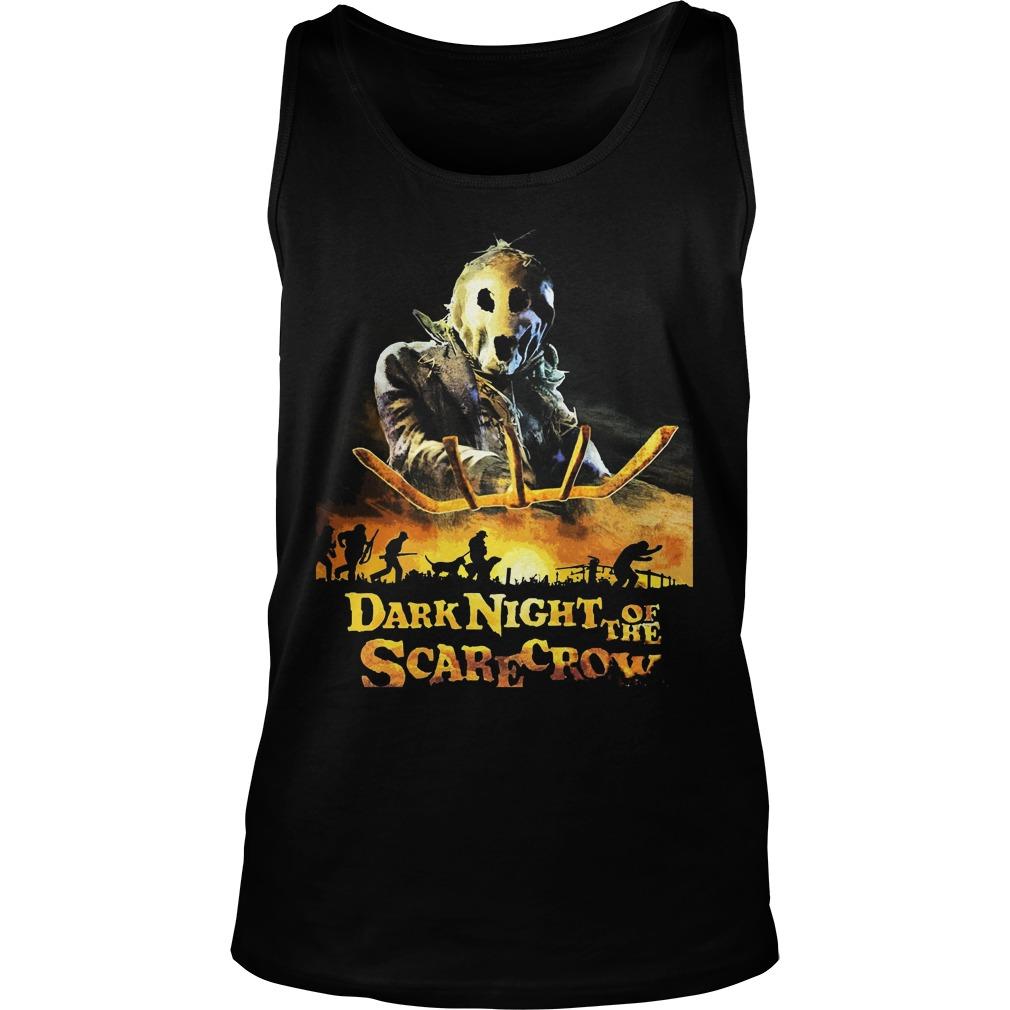 Dark Night Scarecrow Unisex Tank Top
