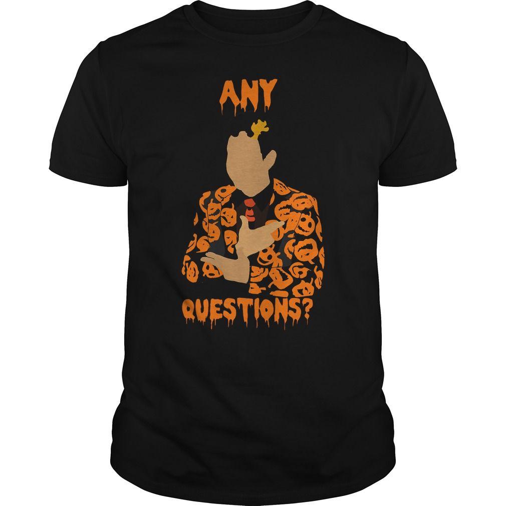 David Pumpkins Snl Question Guys Tee