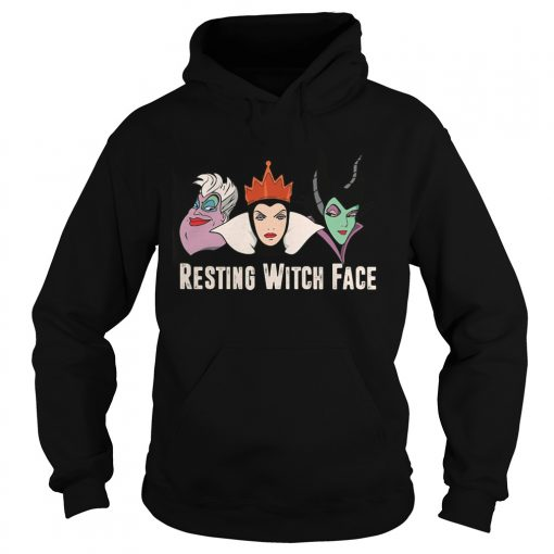 Disney Witches Ursula Grimhilde Maleficent Resting Witch Face Hoodie
