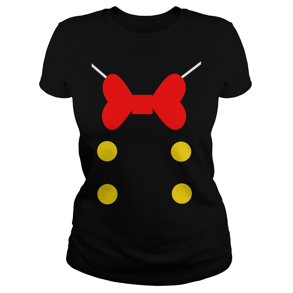 Donald Duck Suit Ladies Tee