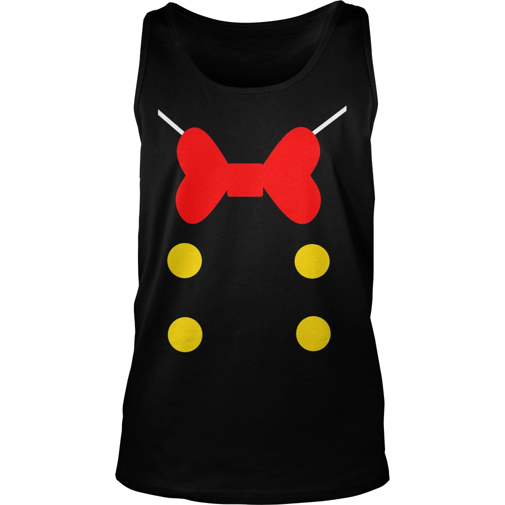 Donald Duck Suit Unisex Tank Top