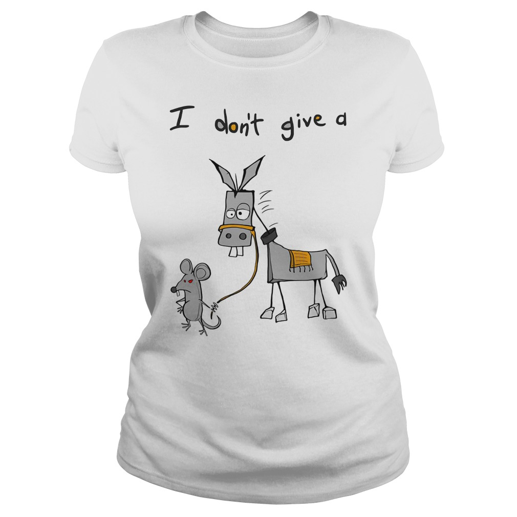 Dont Give Donkey Ladies Tee