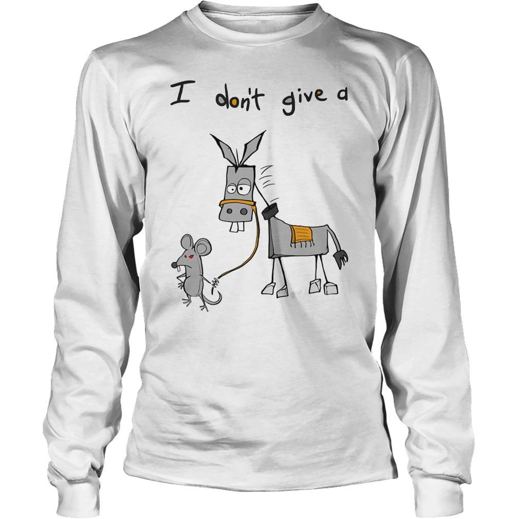 Dont Give Donkey Unisex Longsleeve Tee