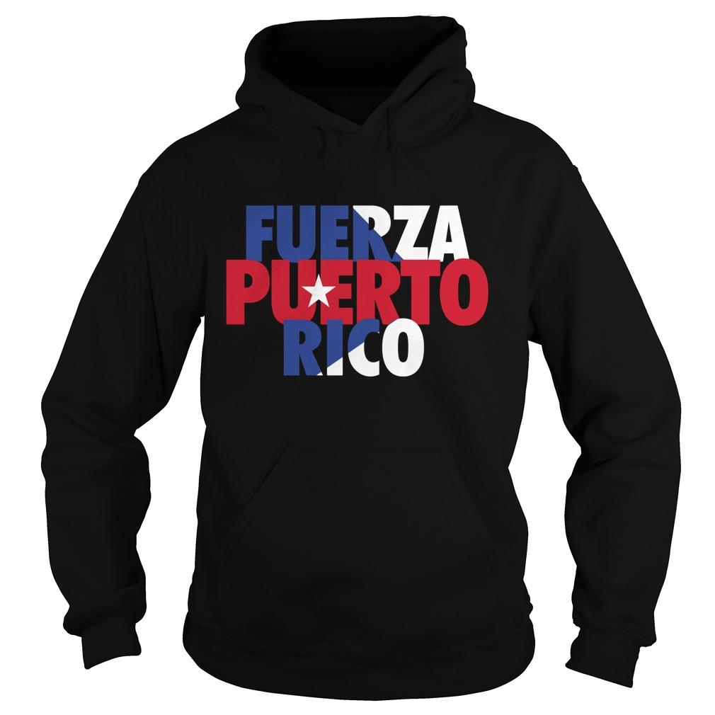 Fuerza Puerto Rico Hoodie