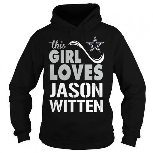 Girl Loves Jason Witten Hoodie