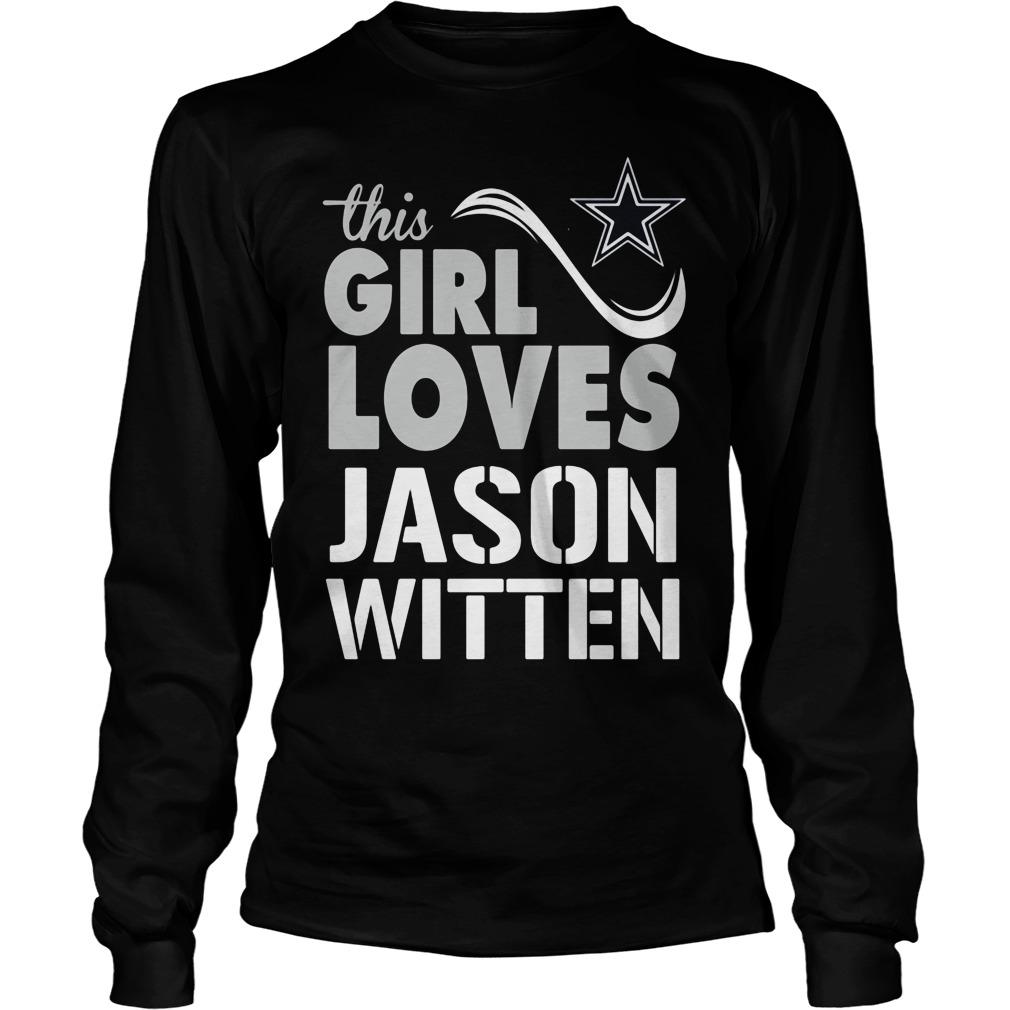 Girl Loves Jason Witten Longsleeve