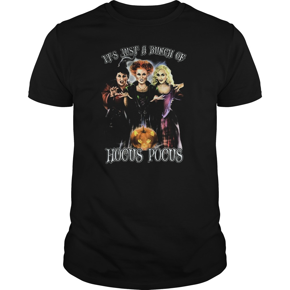 Halloween Cat Just Bunch Hocus Pocus Guys Tee