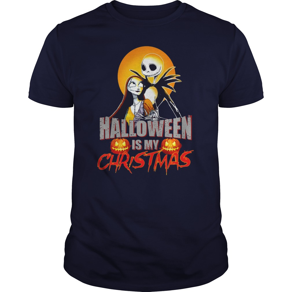 Halloween Christmas Guys Tee