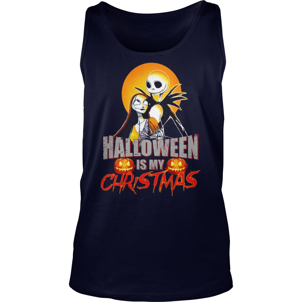 Halloween Christmas Tank Top