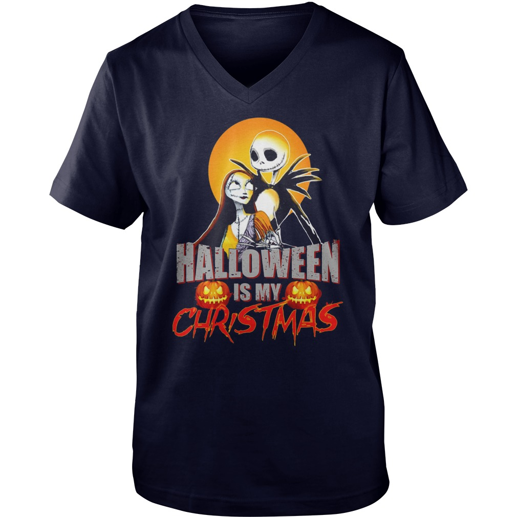 Halloween Christmas V Neck