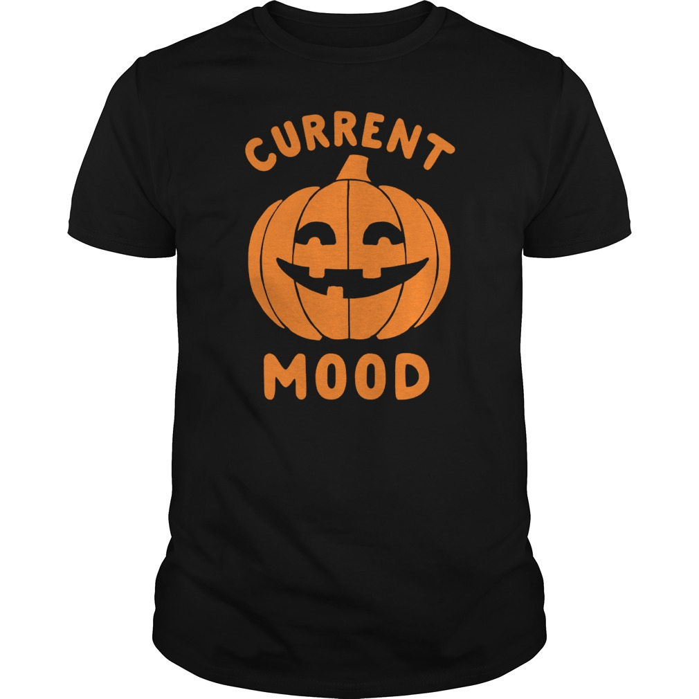 Halloween Current Mood Guys Tee
