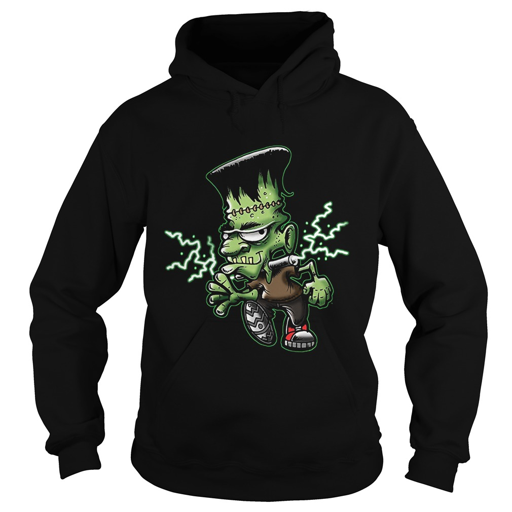 Halloween Frankie Monster Cartoon Hoodie