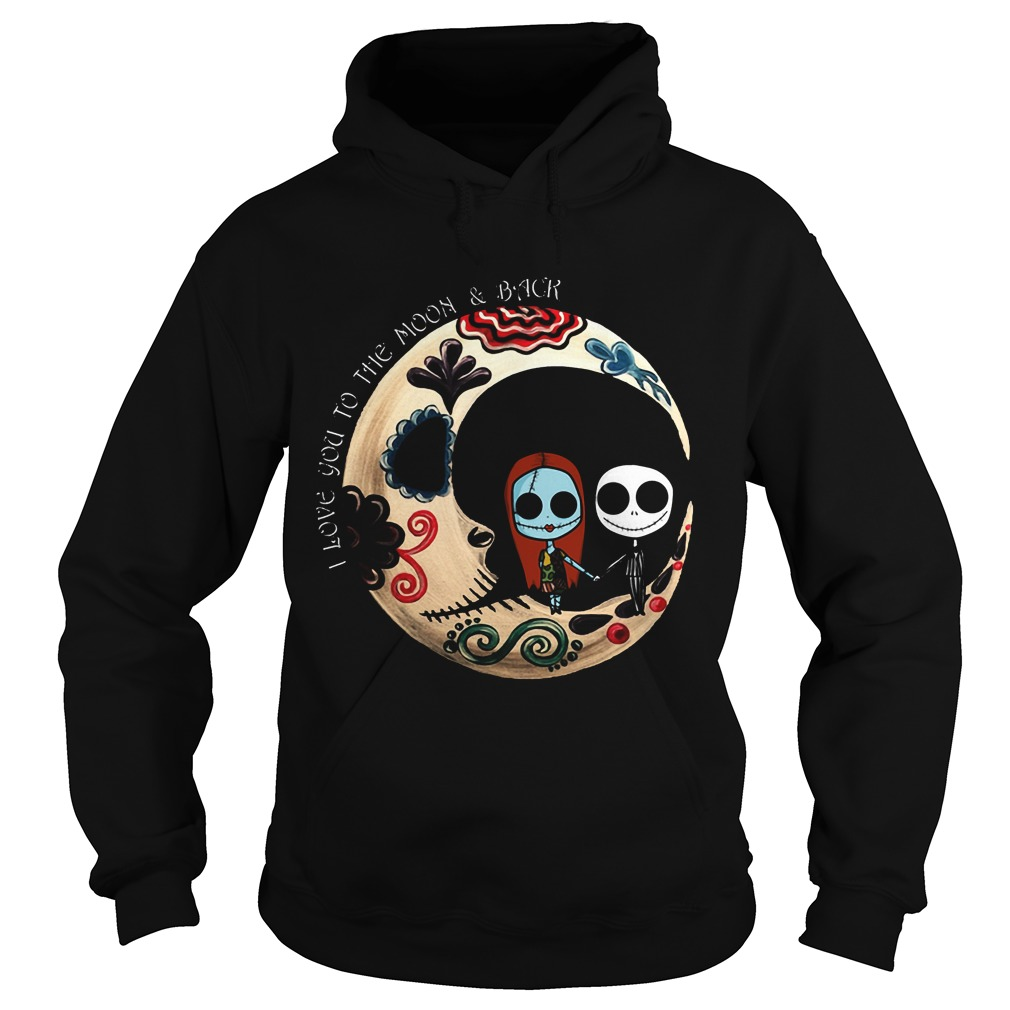 Halloween I Love You To The Moon And Back Hoodie