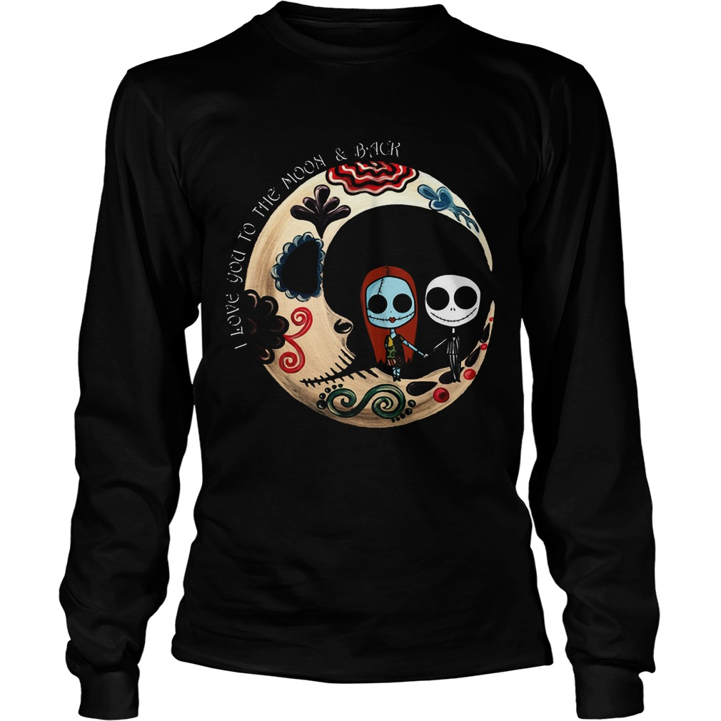 Halloween I Love You To The Moon And Back Unisex Longsleeve Tee