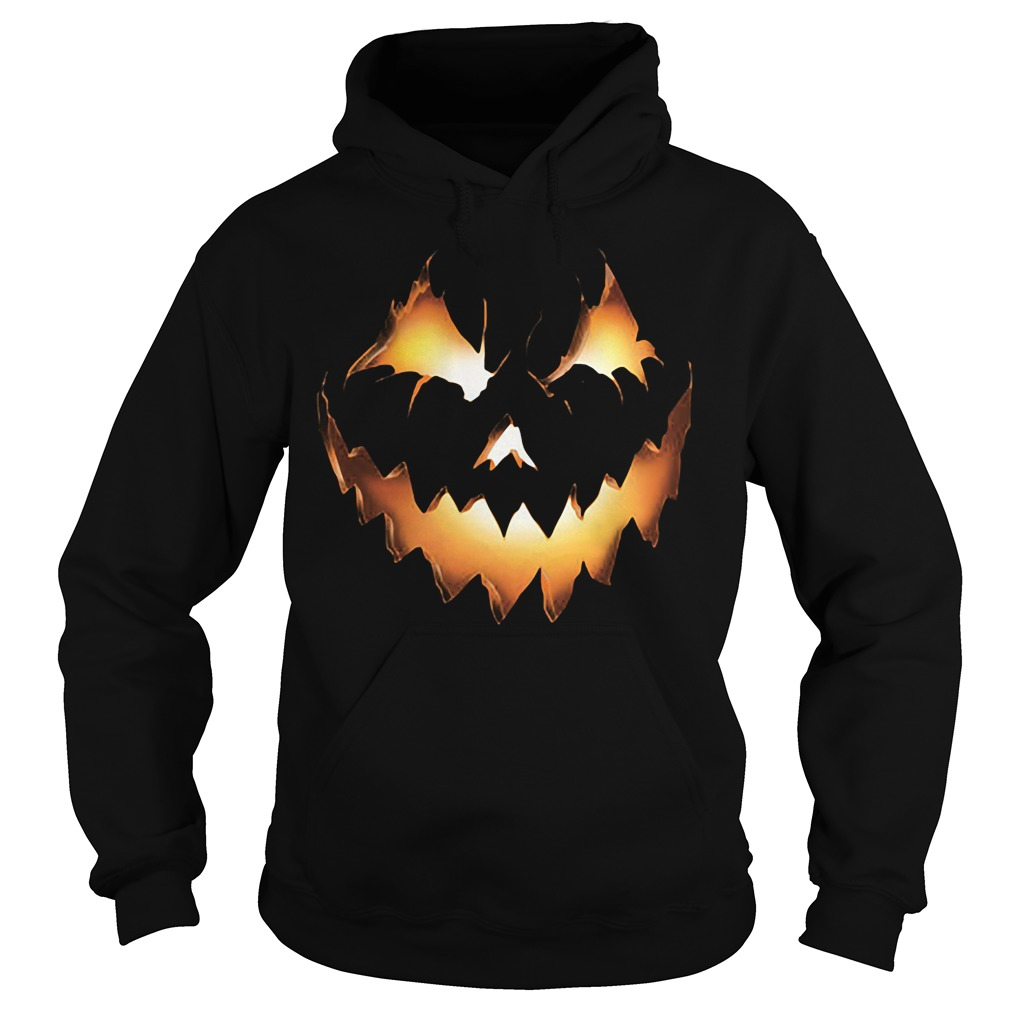 Halloween Pumpkin Jack O Lantern Hoodie