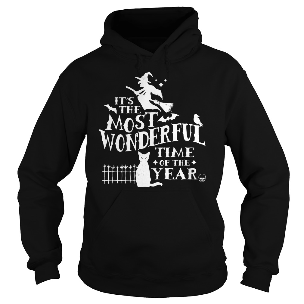 Halloween Wonderful Time Year Hoodie