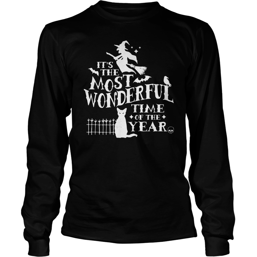 Halloween Wonderful Time Year Longsleeve