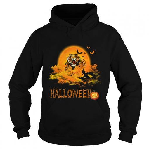 Happy Halloween Tiger Witches Hoodie