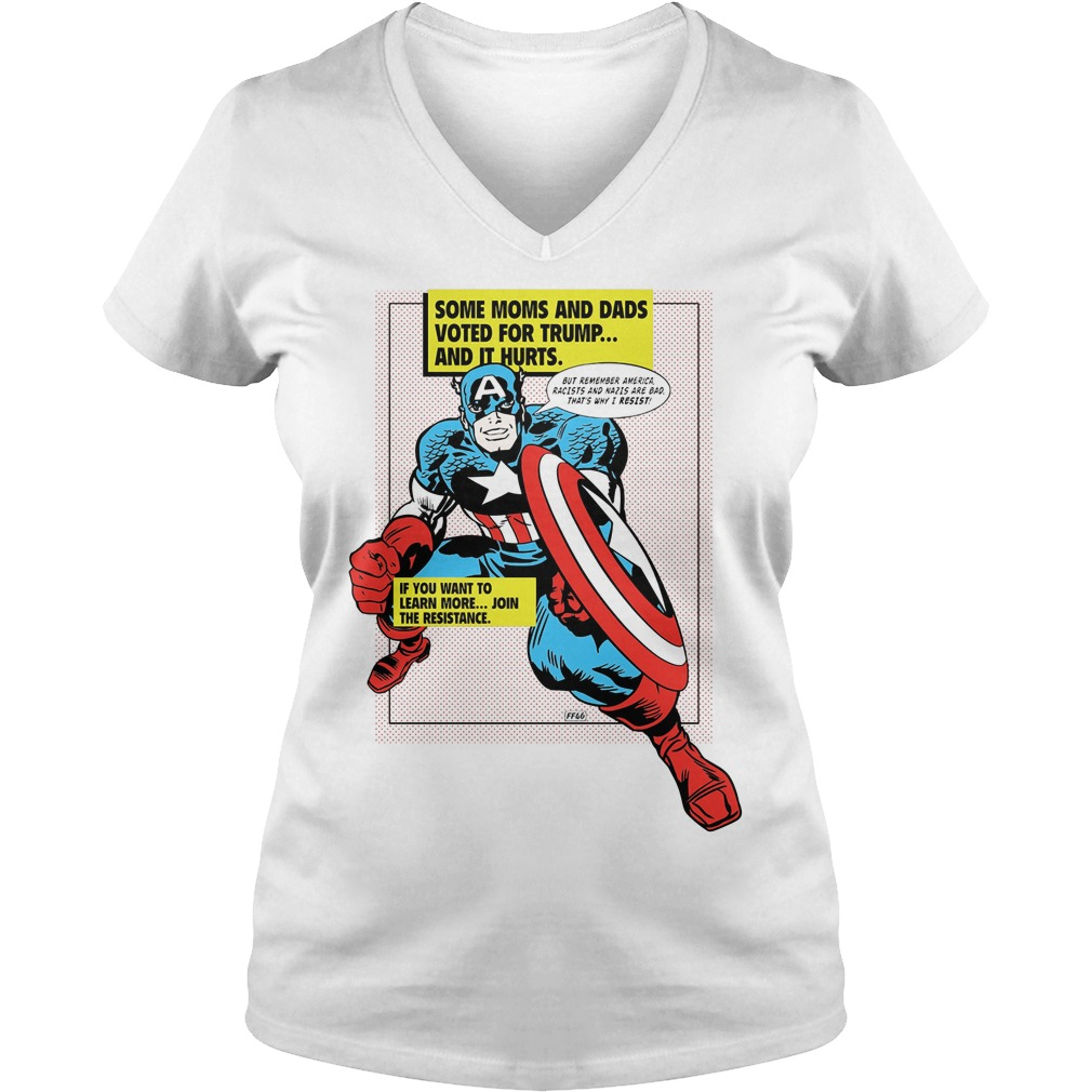 Heroes Resist Psa Ladies V Neck