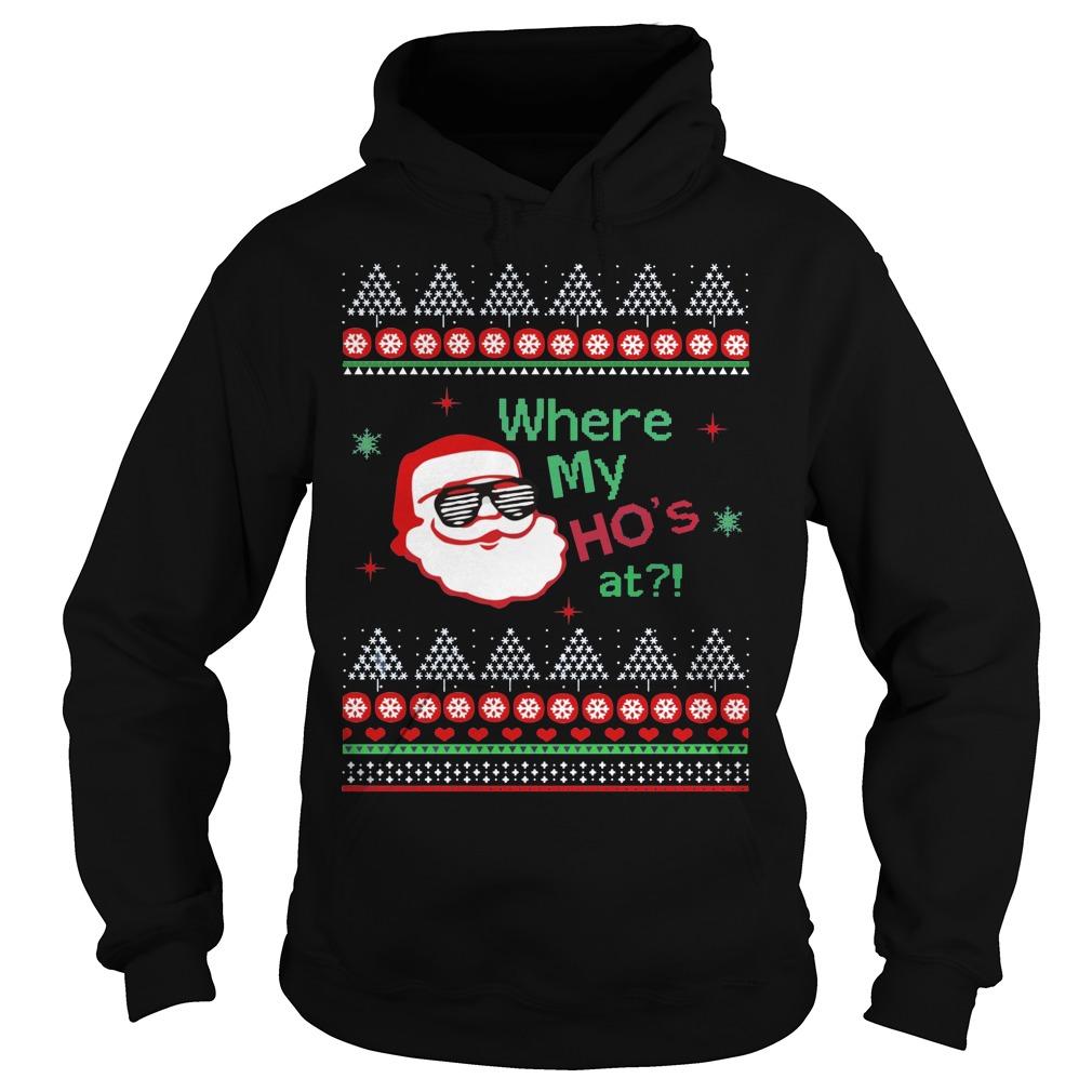 Hos Santa Claus Hoodie