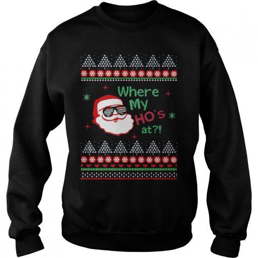 Hos Santa Claus Sweat Shirt