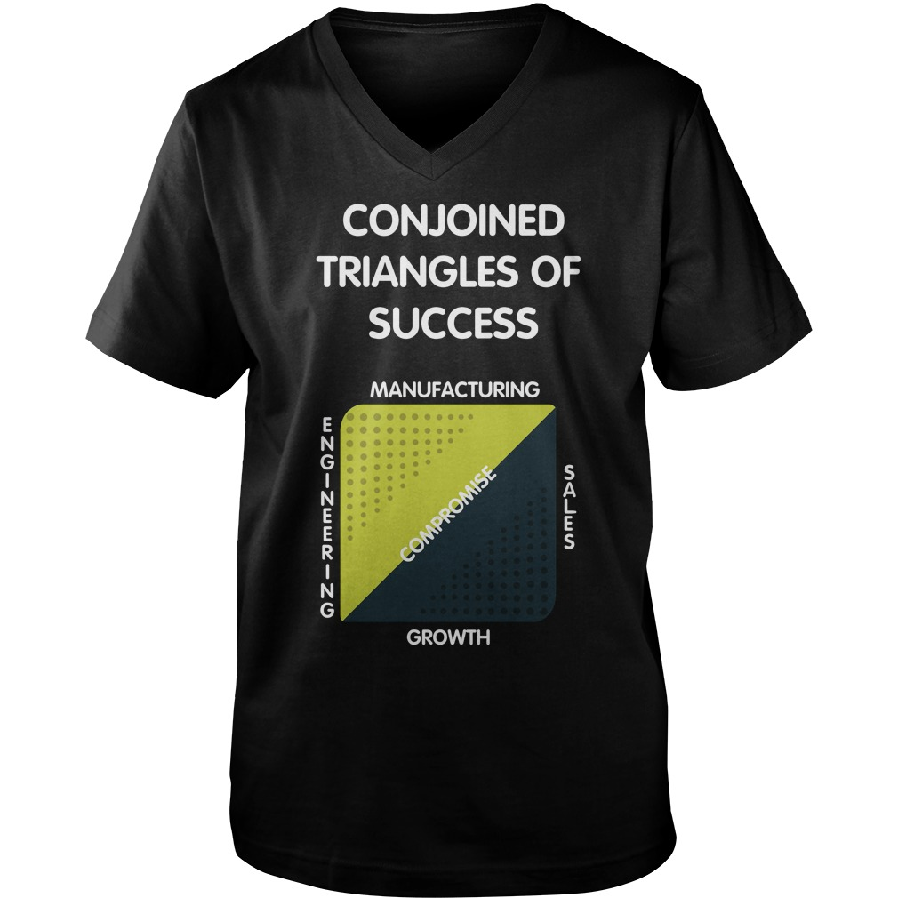 Jack Barker Conjoined Triangles Success Silicon Valley Guys V Neck
