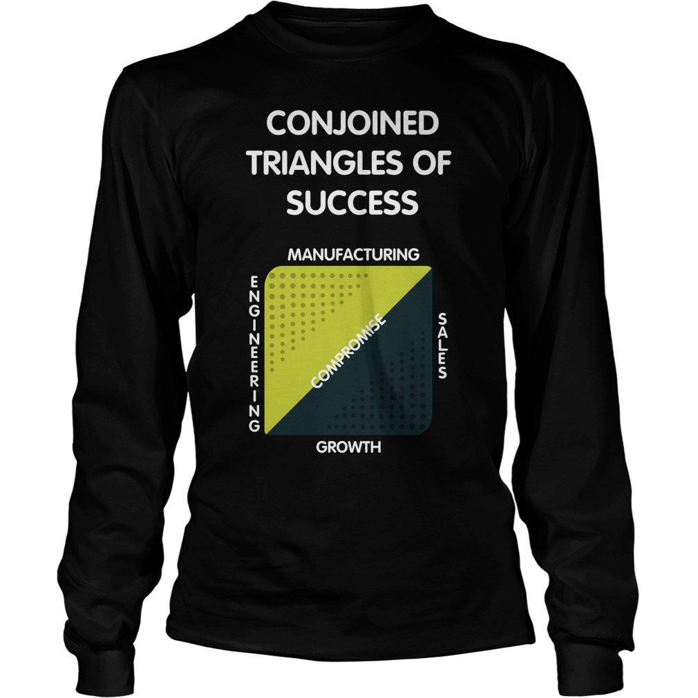 Jack Barker Conjoined Triangles Success Silicon Valley Longsleeve